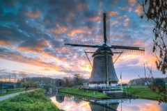 The largest mill in the Utrecht area enjoys a labourless day